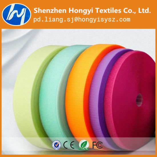 Multifunctional 100% Polyester Hook & Loop Magic Tape for Garment Accessories pictures & photos