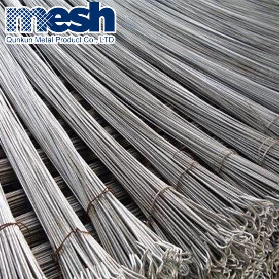Galvanized Loop Bailing Steel Wire Factory