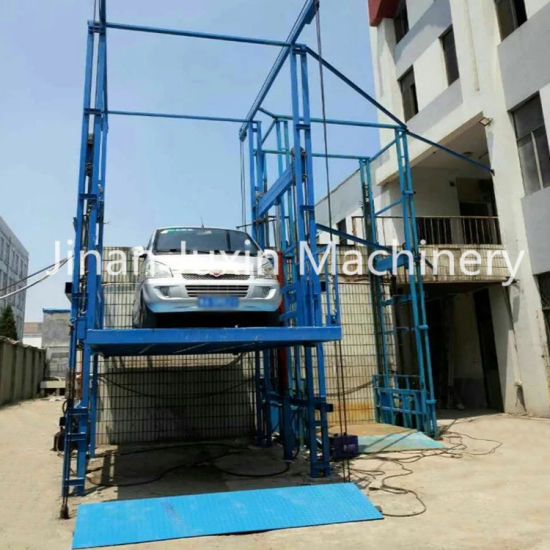 Heavy Duty High Quality Custom Made Hydraulic Used Stationary Vertical Cargo Elevator with Ce ISO Certification