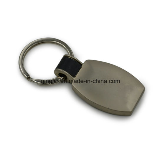 Customized PU Leather & Zinc Alloy Keychain pictures & photos