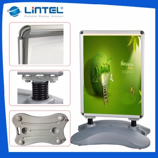 Outdoor Display Tripod Poster Board Stands Display Stand