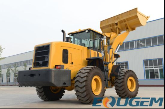 Earth Moving Machine 5ton Bucket Wheel Loader with Ce Certificate pictures & photos