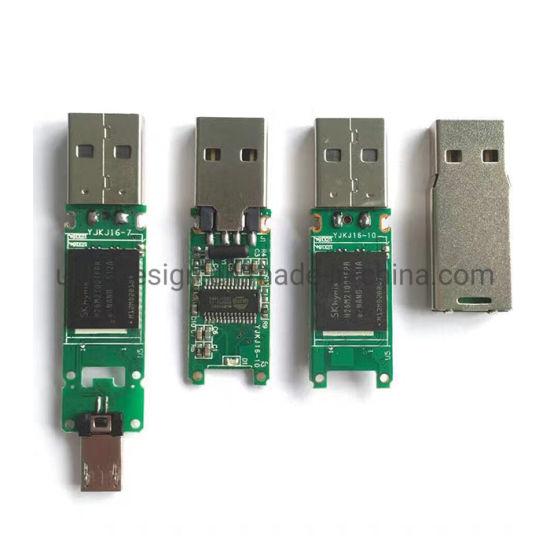 Type C PCBA Chips USB2.0 Without Case Memory Stick USB Flash Drive 2GB 4GB 8GB 16GB