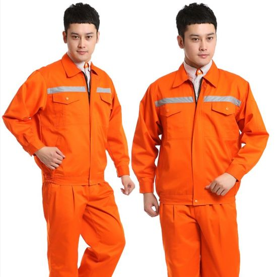 OEM Orange Flame Retardant Suit for Worker safety Wear pictures & photos