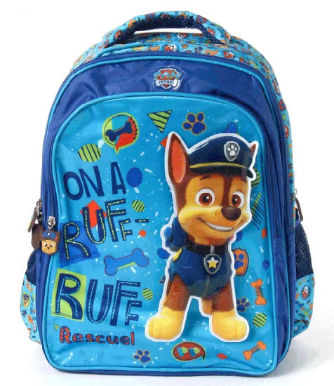 Fashion School Bag with Strong Shoulder Belt and Adjustable Trolley