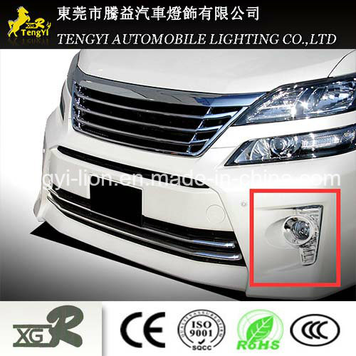 Auto Car Fog Light Chrome Plating Cover for Toyota Vellfire 20 Series pictures & photos