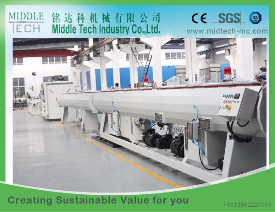 (China wholesale price) Plastic Sewage PVC Pipe Extrusion Making Machine