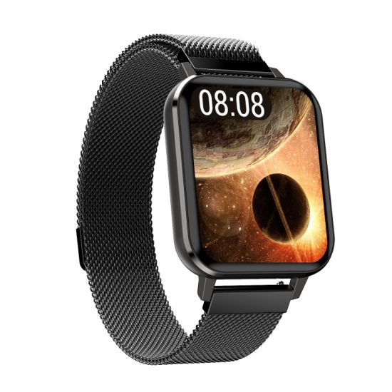 Body Blood Pressure RoHS Fashion Bluetooth Women Digital Electronic Touch Screen Mobile Watch Android Sport Smart Wrist Gift Watches