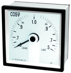 96 240° Power Fact Meter with CE