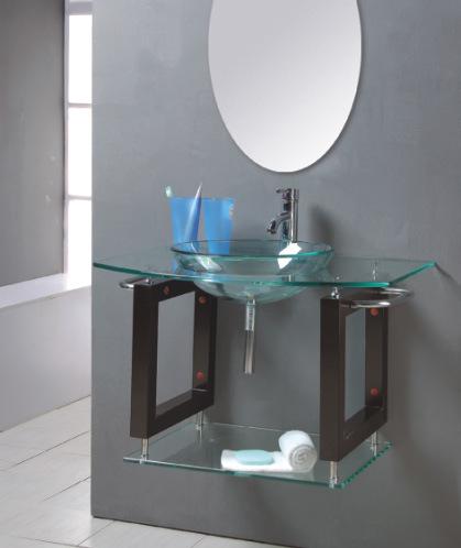 Sink Bowl Bathroom Gl Tb006