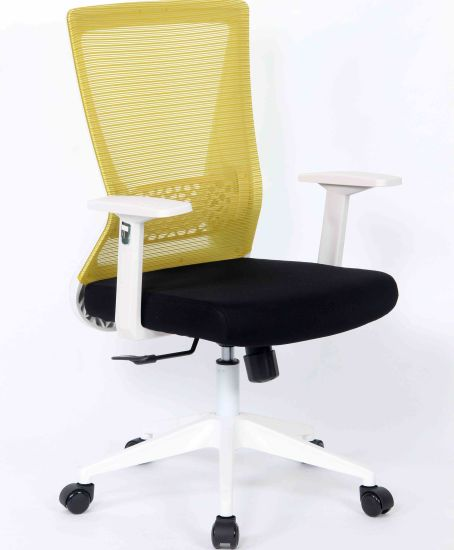 China Younike Mid Back Ergonomic Office Lumbar Support Mesh Computer Desk Task Chair With Armrests China Office Chair Desk Chair