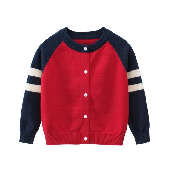 Winter Sweater Granddad Cardigan Baby Clothes Fashion Boy Knitwear
