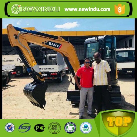 China Sany Sy35u 3 8ton Small Excavator with A/C - China Digger