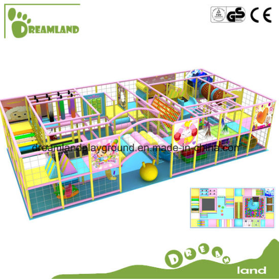 Amusement Park Equipments Kids Toy Indoor Playground, Commercial Children Playground Equipment pictures & photos