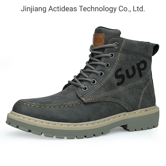 Casual Boots Rubber Outsole Martin Boots Men Boots