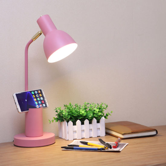 Bedside Reading Light Pink Color for Girl Bedroom Decoration