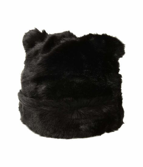 5882d33d12c0b China Adjustable Side Strings Faux Fur POM Beanie Mink Fur Hat ...