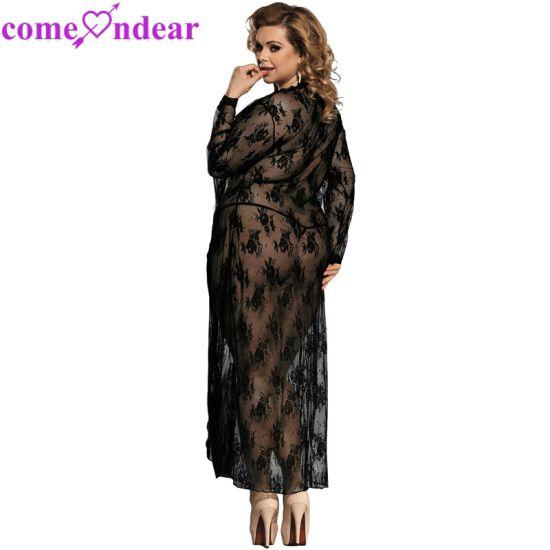 edd9fa9c2 China New Styles Lace Gown Sexy Plus Size Babydoll - China Babydoll ...