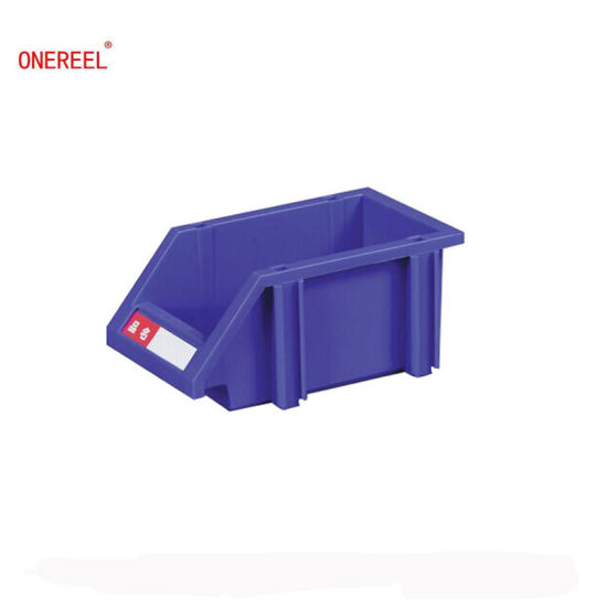 100% PP Plastic Material Factory Manufacturing Stackable Plastic Storage  Bins