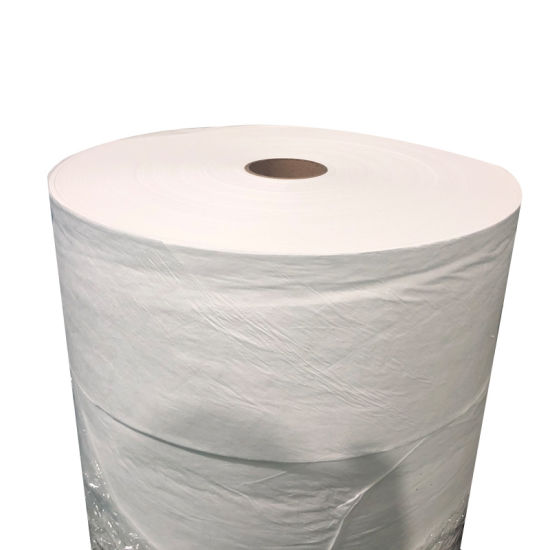 Wholesale PP Spunbond Nonwoven Fabric Roll for Facemask Disposable Gown