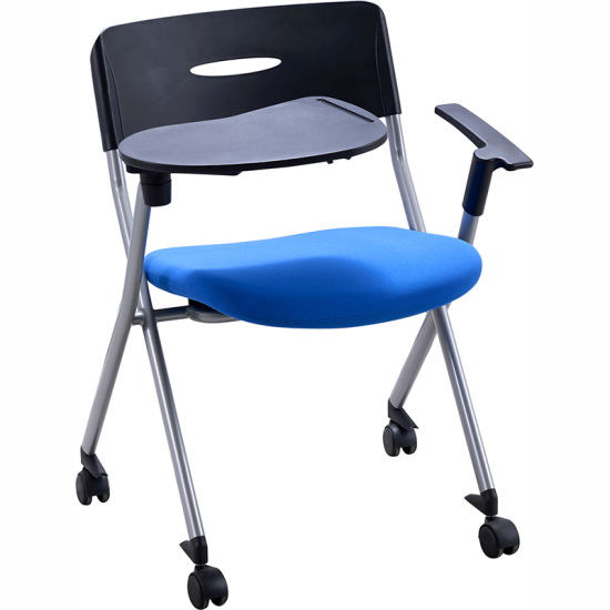 Comfortable Cheap Office Training Chair with Writing Table