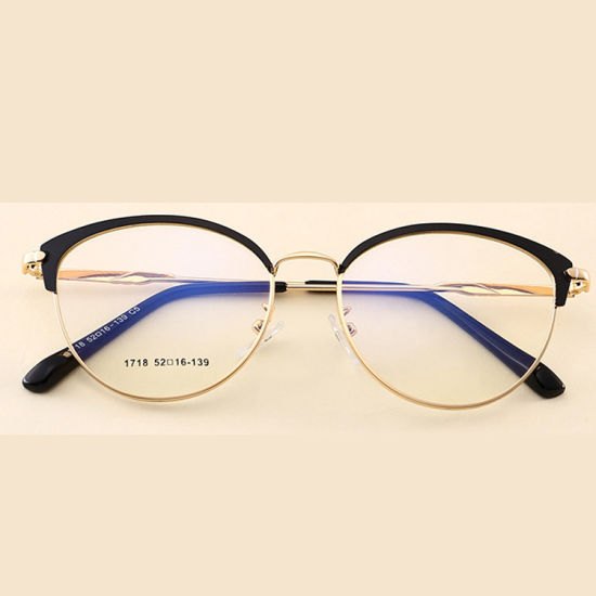 e6eb023b0b Popular Metal Optical Frames Wholesale Round Shape Eyeglasses with Low MOQ