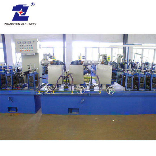 Auto Line High Precision Tube Welding Stainless Steel Pipe Making Production Line