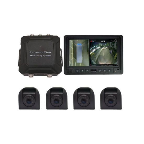 China Hd 360 Bird View Car Camera System For Forklift 360