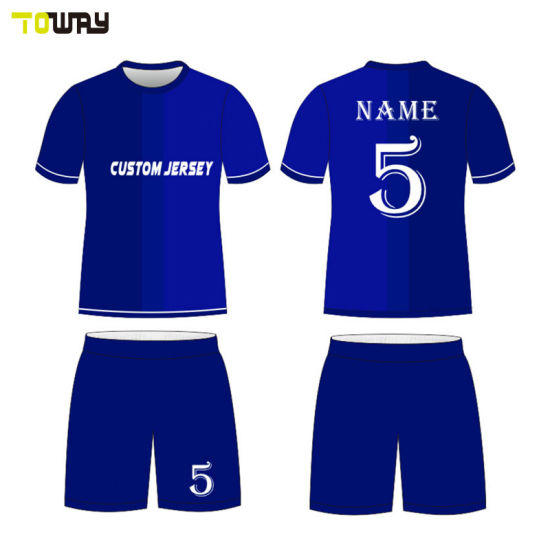 9c2560acea7 China Wholesale Custom Blank Plain Soccer Jersey - China Soccer ...