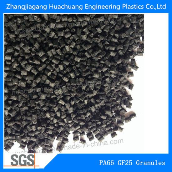 Raw Material Polyamide 66 Glass Fiber 25 Plastic Granules