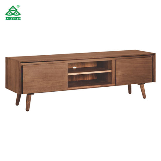 China Solid Wood Tv Cabinet With Drawers Modern Tv Stand Home