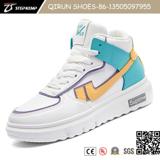 Hot Selling Comfortable Men Injection Casual Sports Flat Skate Sneaker Shoes with Customized 20j9028