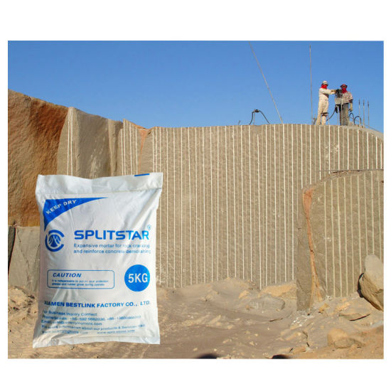 Fastest Marble&Granite Expanding Agent for Breaking Reinforced Concrete