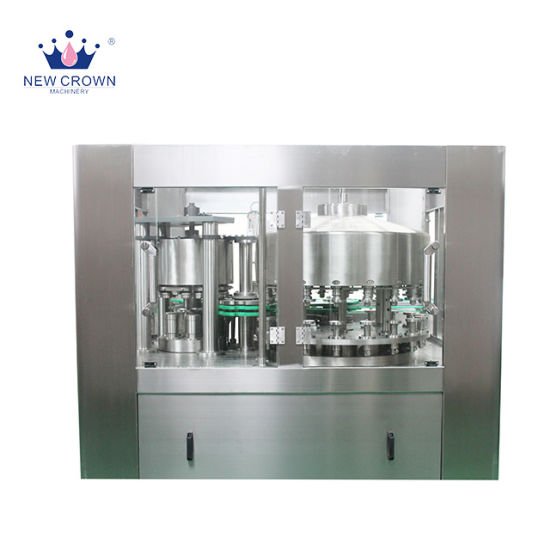 Small Capacity Water Juice Carbonated Drink Canning Machine 12 Heads for Aluminum Can