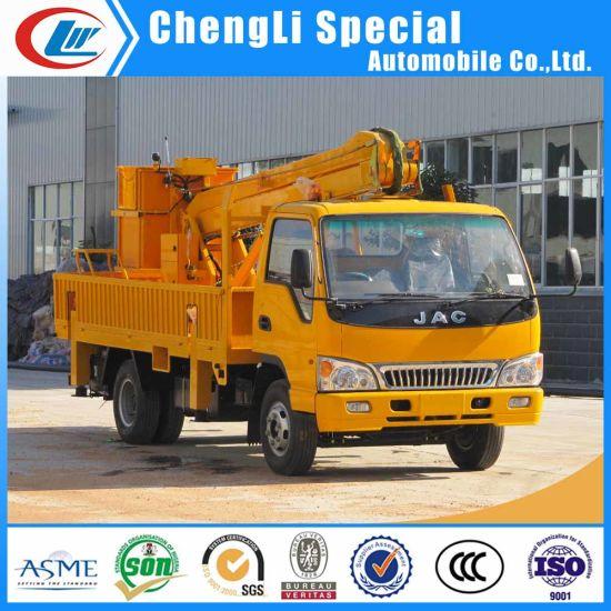 China Factory Supply 18m 22m Hydraulic Lift Platform JAC