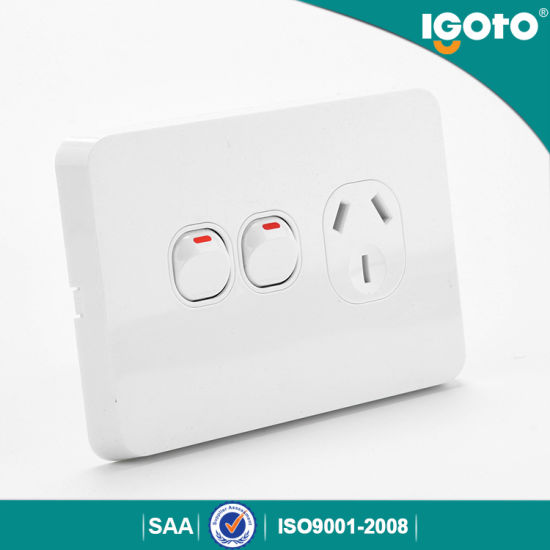 10A Single Power Point with Extra Switch