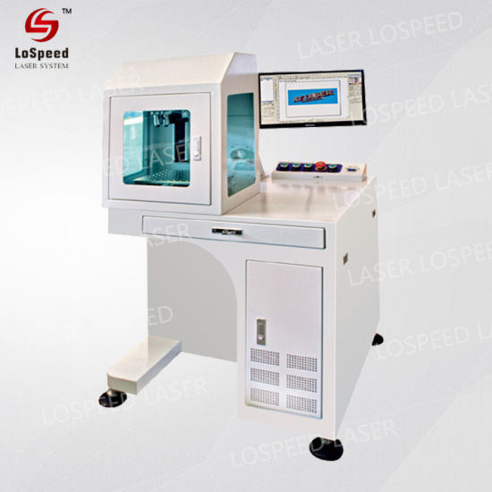 Lospeed Paper Cutting Machine Laser Marking Equipment Environmental Friendly