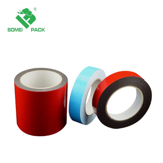 High Density White Double Sided PE Foam Tape pictures & photos