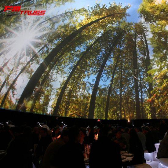 Church Cinema Large 35m Diameter Geodesic Dome Tent