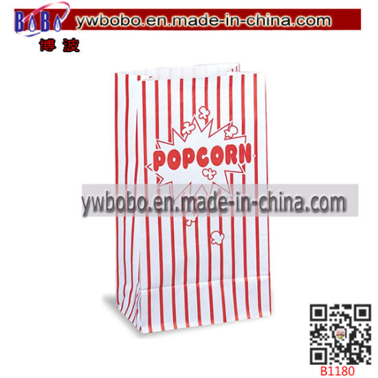 Party Product Popcorn Cinema Loot Bag Paper Packaging Box (B1180)