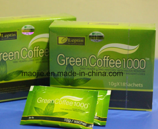 Leptin Green Coffee 1000 for Health Weight Loss pictures & photos