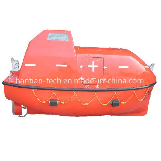 40p Deck Marine Equipment Fiberglass Lifesaving Boat Solas (75F)