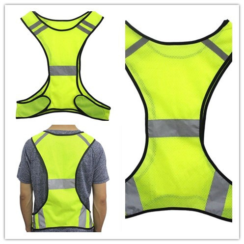 Lowest Price Construction Safety Wear Vest with Reflective Stripes