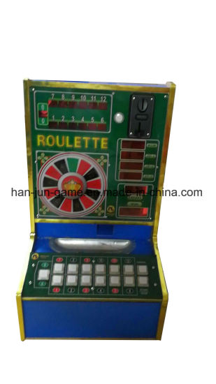 Mini Coin Operated Africa Mario Slot Bergmann Electronic Roulette Machine pictures & photos