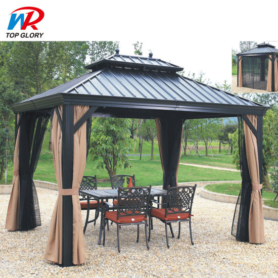 Patio Aluminum Pergola Outdoor, Outdoor Canopy Gazebo