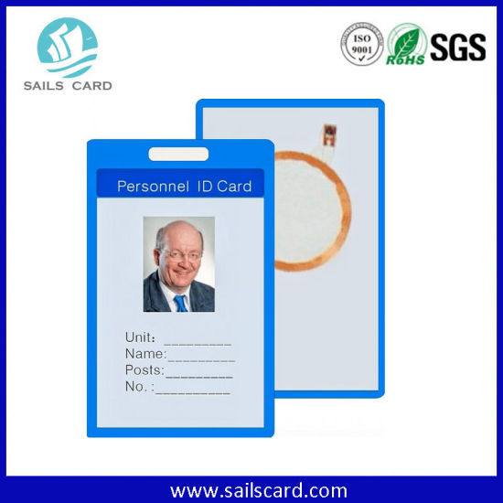 Dual Freuqency RFID Card Used as Employee ID Card & Access Control Key Card pictures & photos