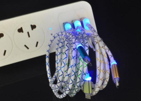 Cheap Cell Phone Cable with LED Light