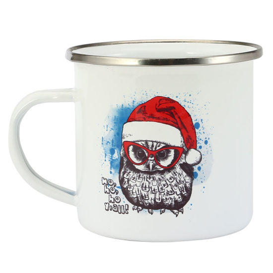 High Quality FDA Standard Wholesale Enamel Cheaper Customized Mug for Promotion