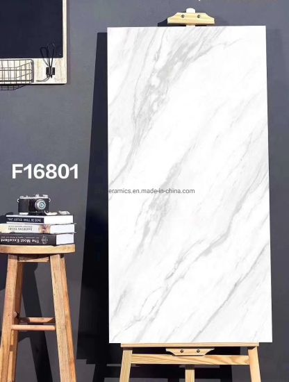 Building Material 80X160cm Glazed Polished Porcelain Natural Stone Flooring Full Body Marble Tile