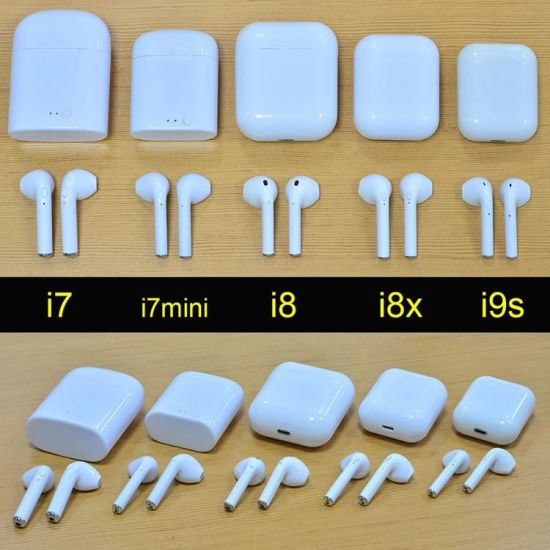 I7mini/I7s I8/I9/I9s Tws I7 Earphone Mini Wireless Headset OEM Multi-Color  Headset with Charging Case